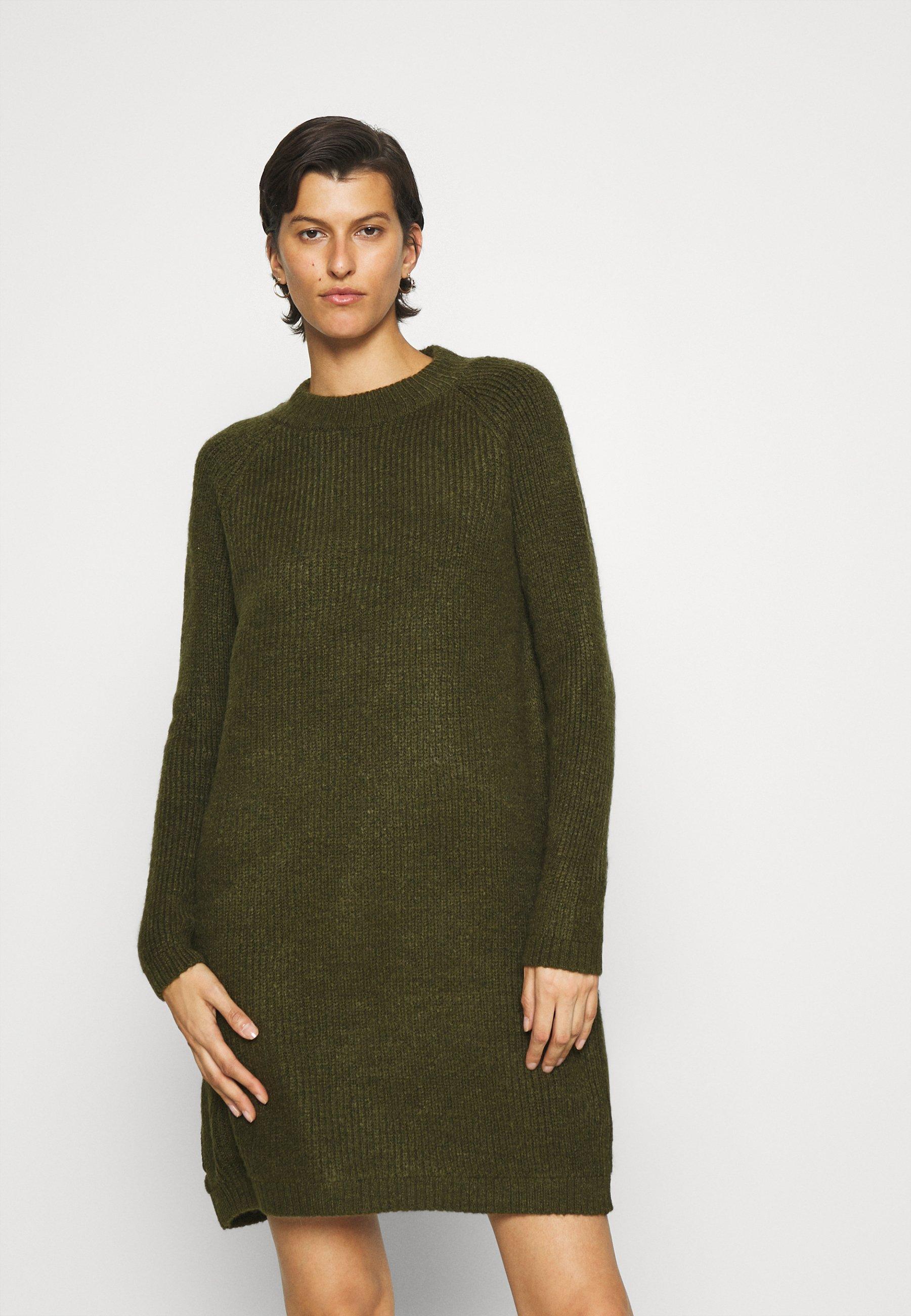 Mujer ONLJADE DRESS - Vestido de punto