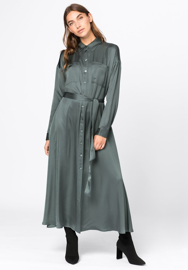 Shirt dress - eukalyptus