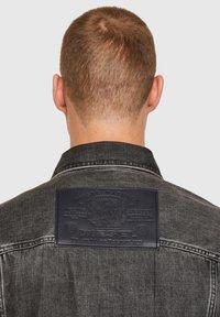 Diesel - Giacca di jeans - black - 4