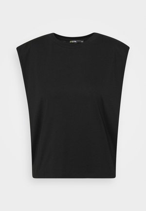 SLEEVELESS - Basic T-shirt - black