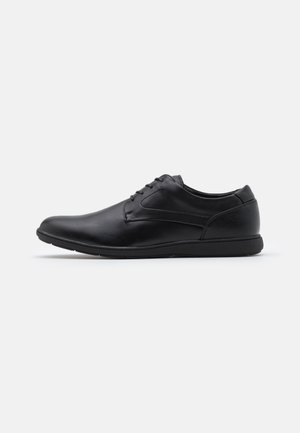 VEGAN GEORGE - Casual lace-ups - other black