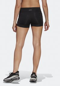 adidas Performance - OWN THE RUN SHORT TIGHTS - Medias - black/reflective silver - 2