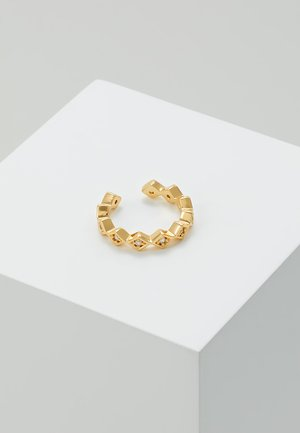SHAPE SINGLE EAR CUFF - Earrings - gold-coloured