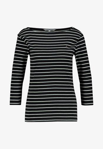 AISHA - Long sleeved top - marine/weiß (943)