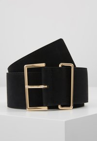 Gina Tricot - ADDISON BELT - Pásek - black - 0