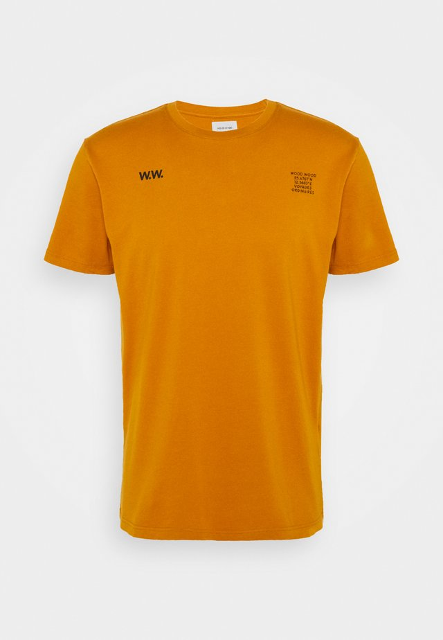 VOYAGES - T-shirt con stampa - orange
