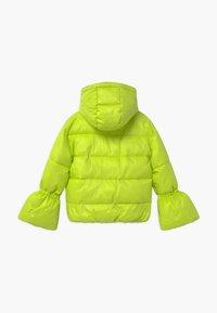 Patrizia Pepe - PIUMINO LOGO - Winter jacket - verde acido chiaro - 1
