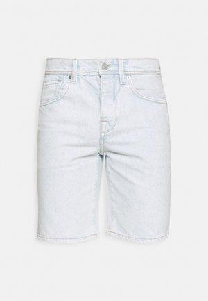 SLHSTRAIGHT SCOTT - Denim shorts - ballad blue