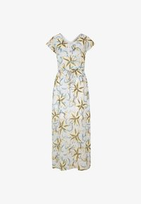 comma casual identity - MIT TUNNELZUG - Maxi dress - white flowers & dots - 6