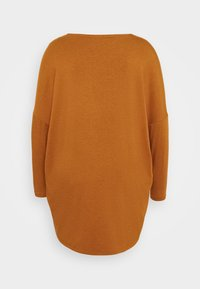 ONLY Carmakoma - CARCARMA LONG - Long sleeved top - glazed ginger - 1