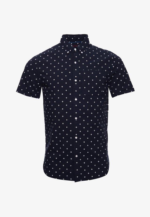 CLASSIC SEERSUCKER  - Overhemd - navy