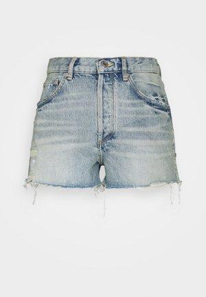INSTINCT - Denim shorts - bleu clair
