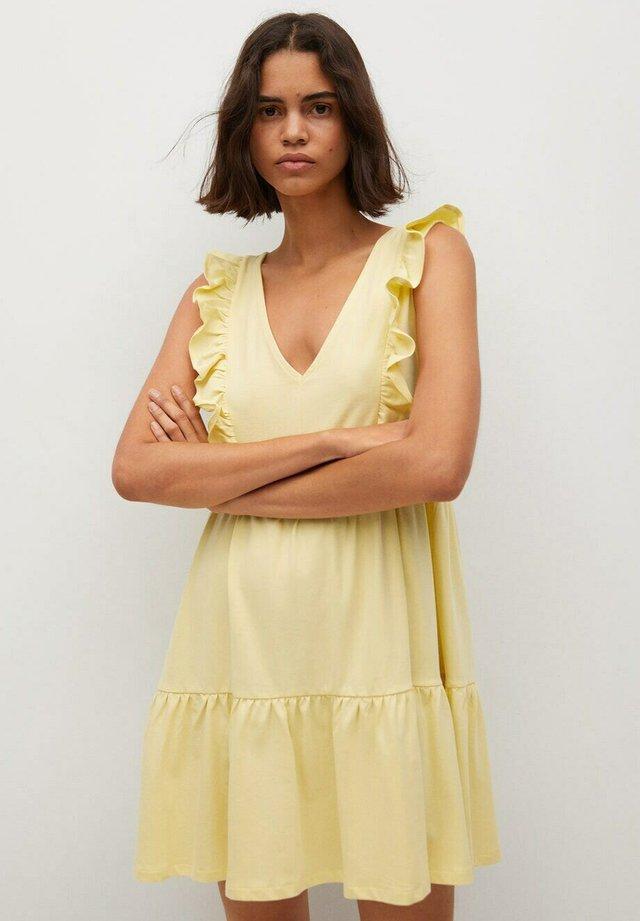 Sukienka letnia - geel