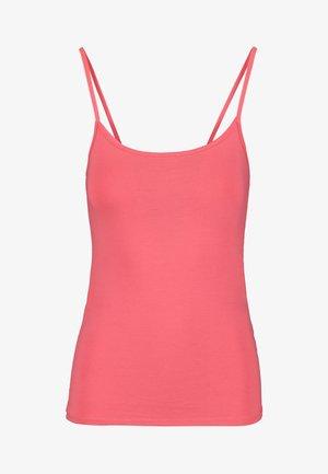 Top - mottled pink