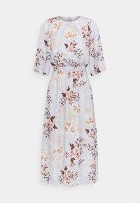 True Violet Petite - SLEEVE FIT AND FLARE DRESS - Denní šaty - grey - 0