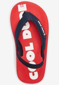 Next - T-bar sandals - red - 2