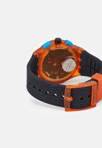 Swatch - YELLOW TIRE - Chronograph watch - orange - 1