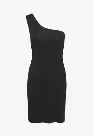 VILALI FESTIVAL ONE SHOULDER DRESS - Shift dress - black