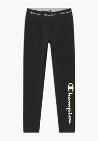 Champion - AMERICAN CLASSICS - Leggings - black - 0