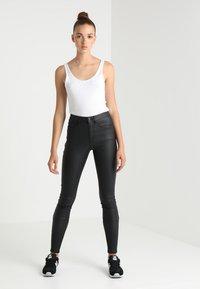 ONLY - ONLROYAL ROCK  - Spodnie materiałowe - black - 1