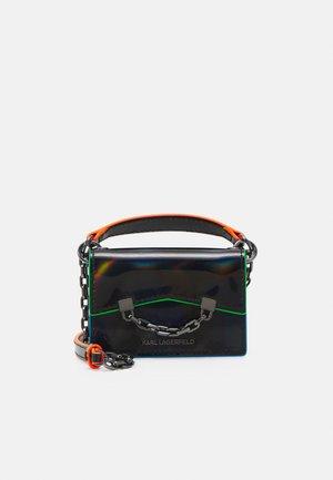 SEVEN IRIDESCENT NANO - Handbag - black