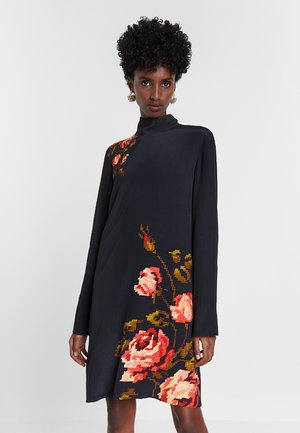 DESIGNED BY M. CHRISTIAN LACROIX - Robe pull - black