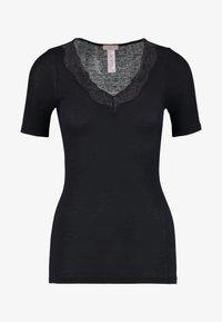 Hanro - DELIGHT - Pyjama top - black - 4