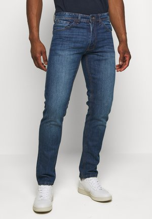 RRNEW YORK - Džíny Slim Fit - mid blue