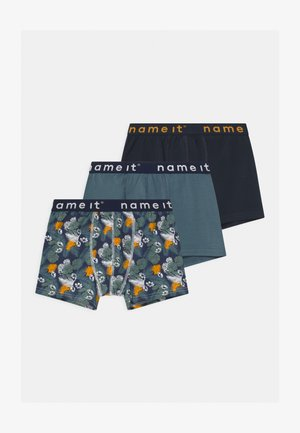 NKMBOXER 3 PACK - Panties - china blue