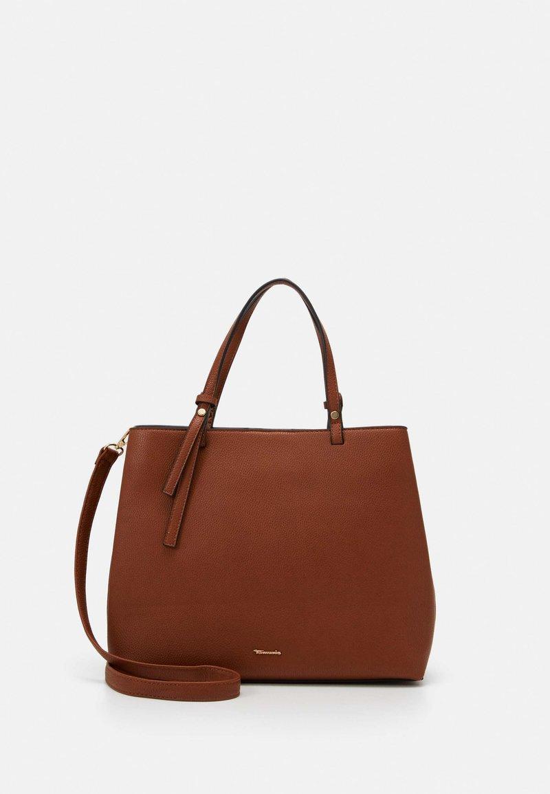 Tamaris - BROOKE - Handbag - cognac