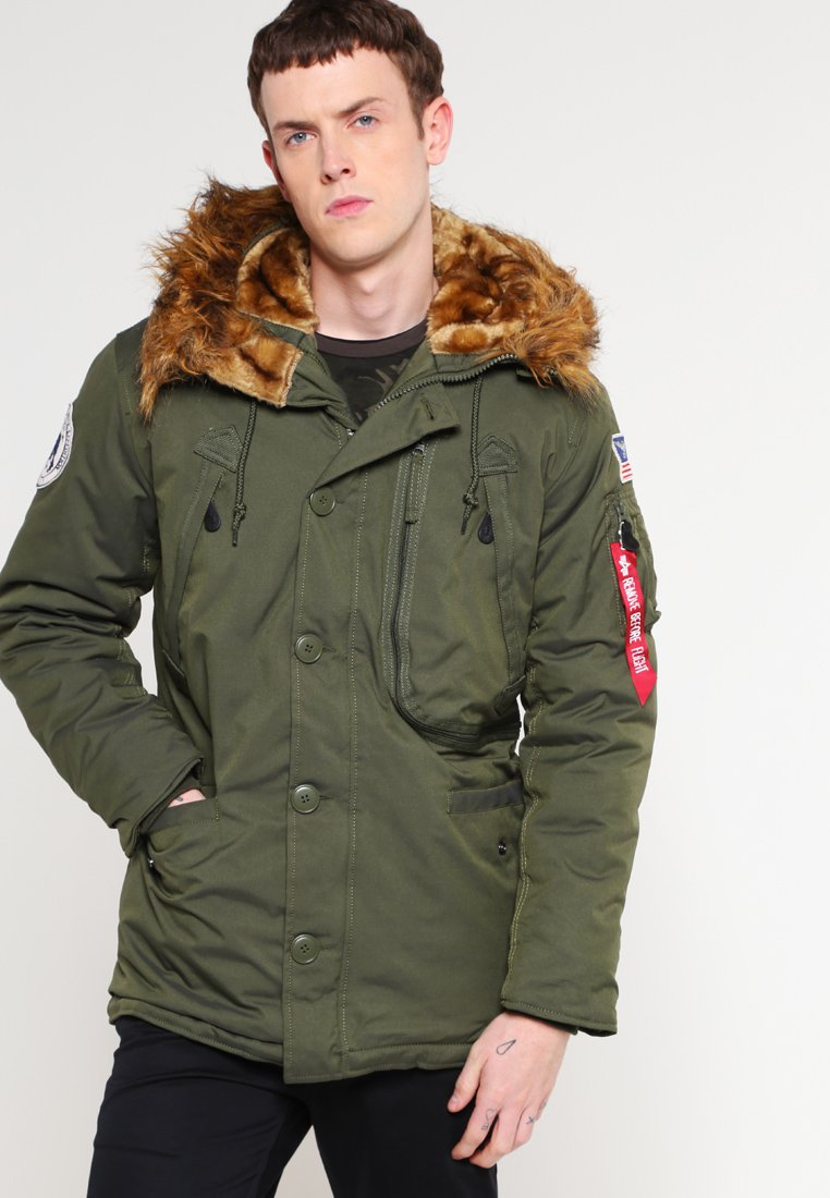 Alpha Industries - Parka - dark green