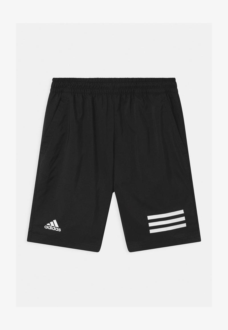 adidas Performance - CLUB UNISEX - Sportovní kraťasy - black/white