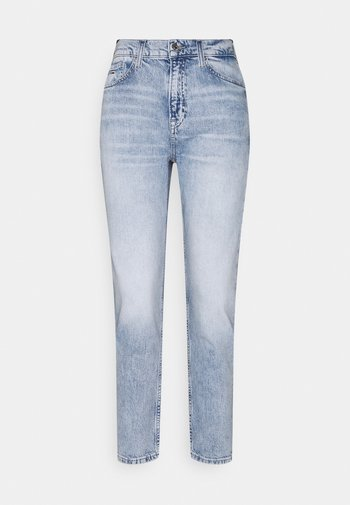 IZZY SLIM ANKLE  - Slim fit jeans - light-blue denim