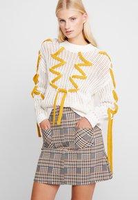 Dorothy Perkins - CHECK - A-line skirt - multi-coloured - 0
