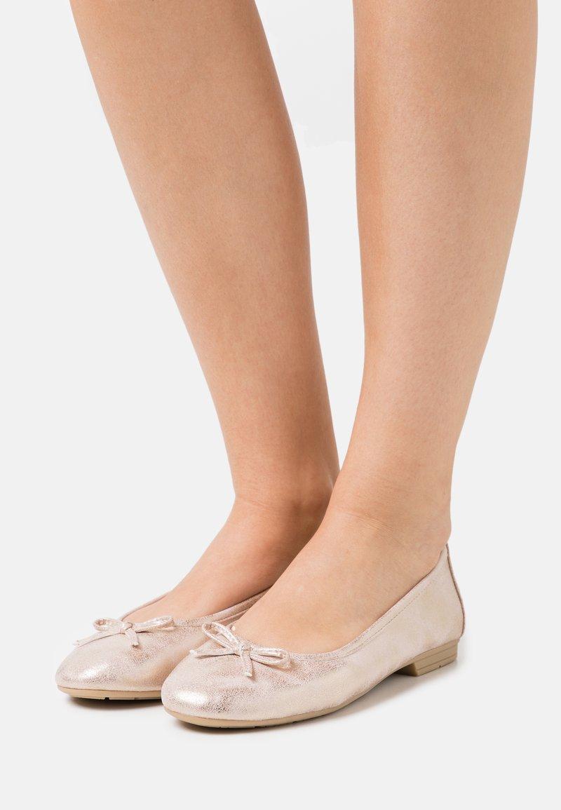 Jana - Ballerinat - rose metallic
