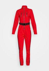 Missguided - SKI SLIM FIT SNOW SUIT - Jumpsuit - red - 0