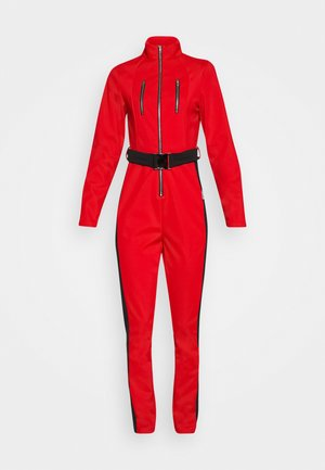 SKI SLIM FIT SNOW SUIT - Jumpsuit - red