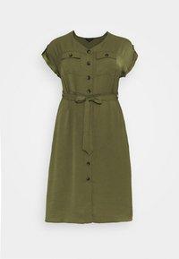 Dorothy Perkins Curve - SHIRT DRESS - Hverdagskjoler - khaki - 5