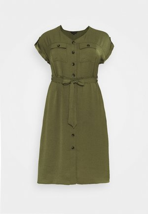 SHIRT DRESS - Day dress - khaki