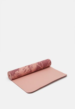EXERCISE MAT CUSHION 5MM - Fitness / yoga - impulsive pink