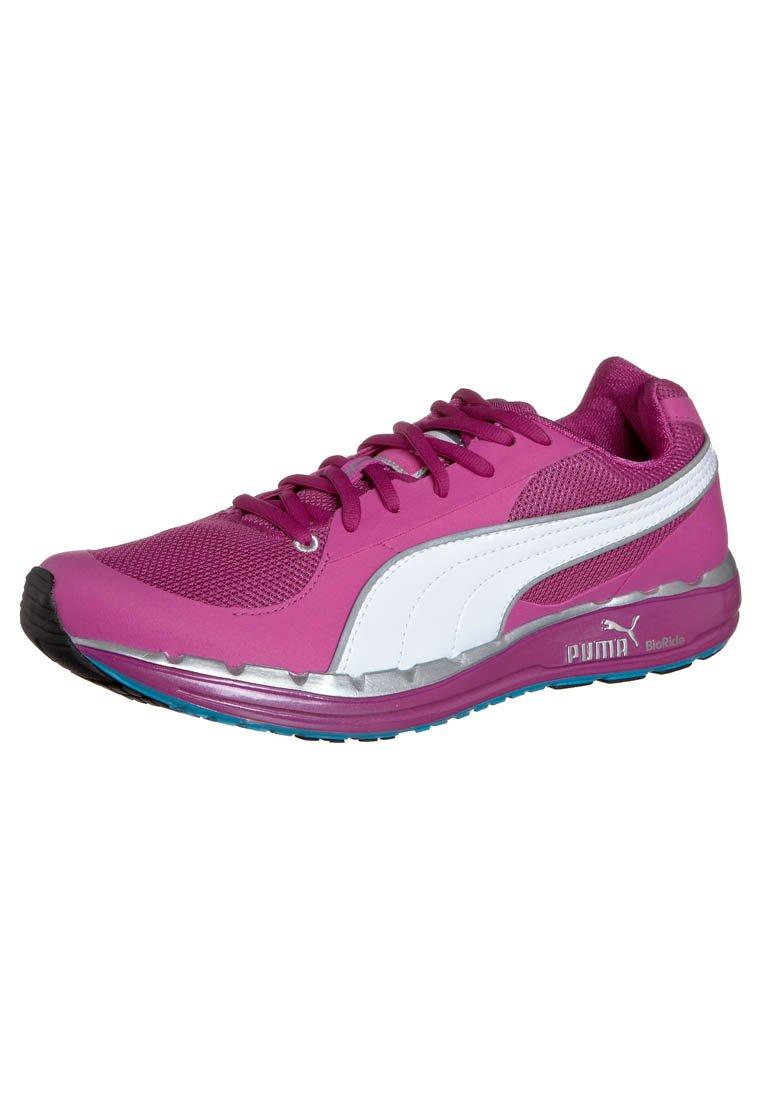 Puma - FAAS 500 W - Chaussures de running compétition - neon/silver/fluo blue