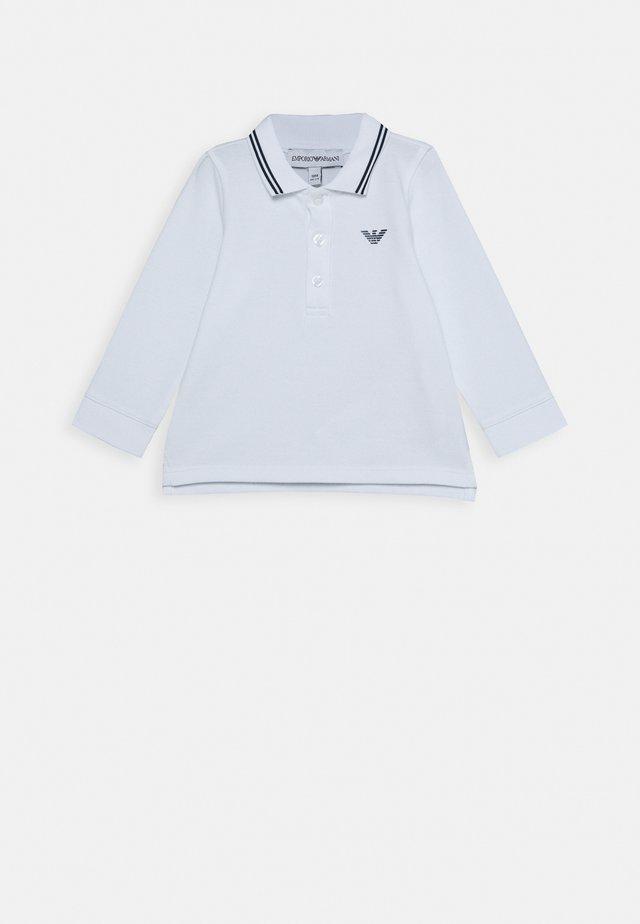 BABY UNISEX - Polo shirt - bianco ottico