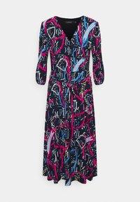 Lauren Ralph Lauren - PRINTED MATTE DRESS - Jersey dress - navy/aruba pin - 5