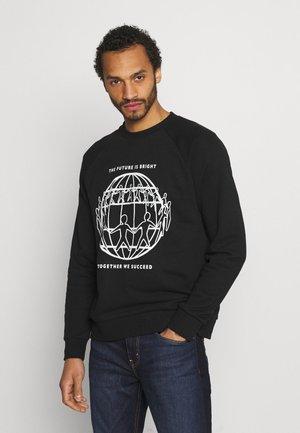 ONE PLANET CREWNECK UNISEX - Sweater - black