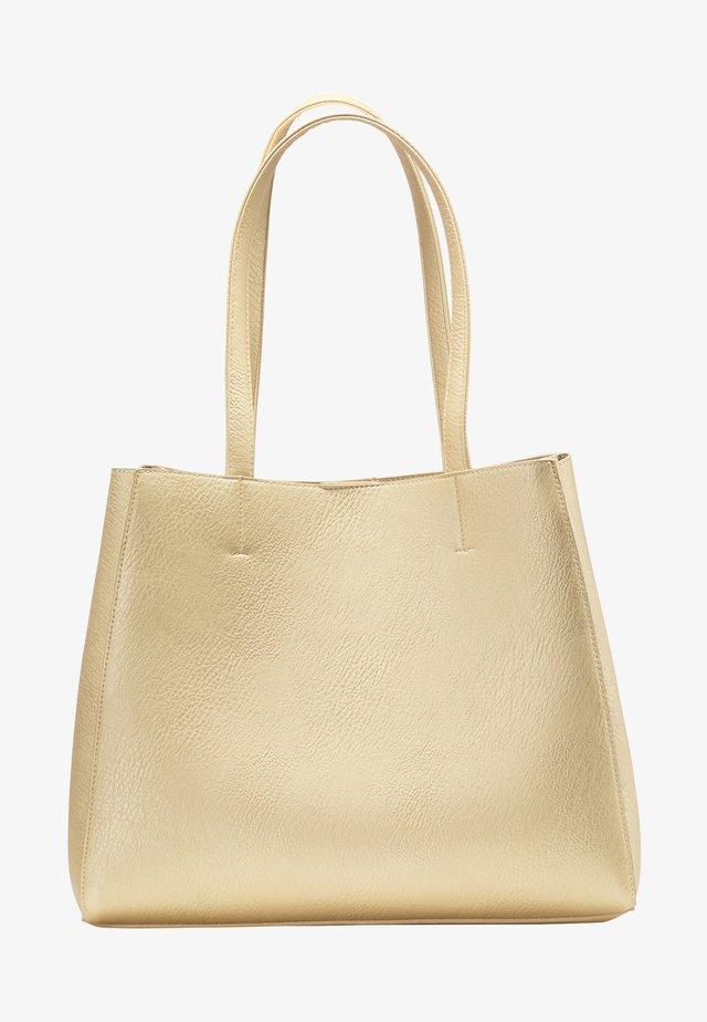Shopper - gold