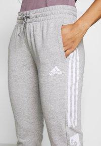 adidas Performance - BLOCK PANT - Trainingsbroek - grey - 4