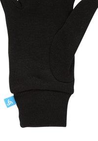 ODLO - WARM  - Rękawiczki pięciopalcowe - black - 3