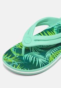 Crocs - TROPICAL - Pool shoes - white/multi - 7