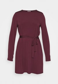 Vila - VIEBONI TIE DRESS - Jersey dress - winetasting - 4