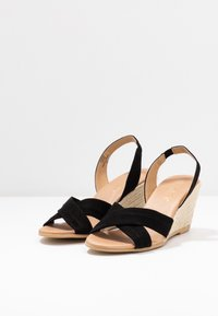 Office Wide Fit - MILLS - Espadrilles - black - 4